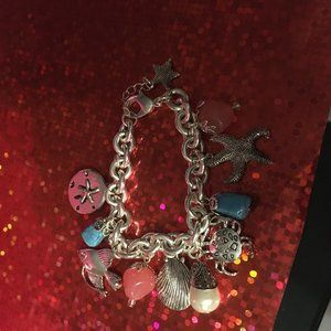 Avon Sea Themed Charm Bracelet - 124 $17 FIRM